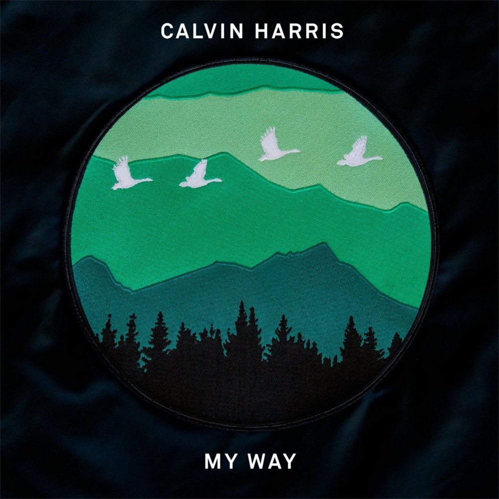 My Way // Calvin Harris artwork