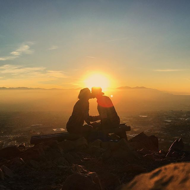 Can't seem to spend enough time with you.  #theresortgoeswhereyougo #saltlakecity #slc #sunset #lensflare