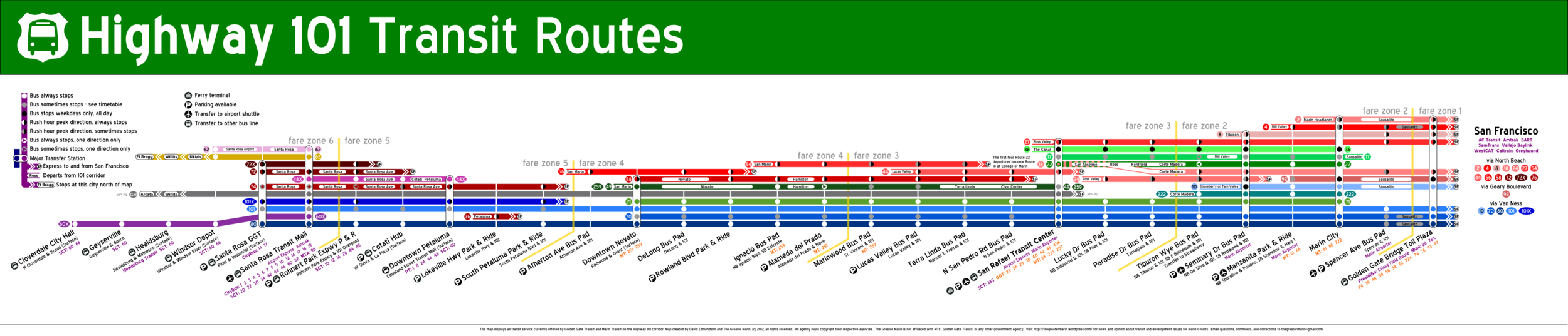 101 Buses-Weekday 2013.08-x
