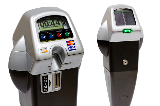 Similar parking meters will be installed in January in San Rafael. Image from IPS Group.