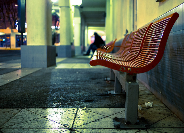 Waiting for the Bus.Image by Franck Michel, on Flickr.