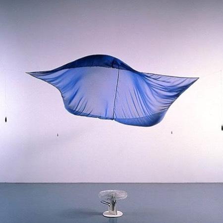 Blue Sail by #hanshaake via @ignant