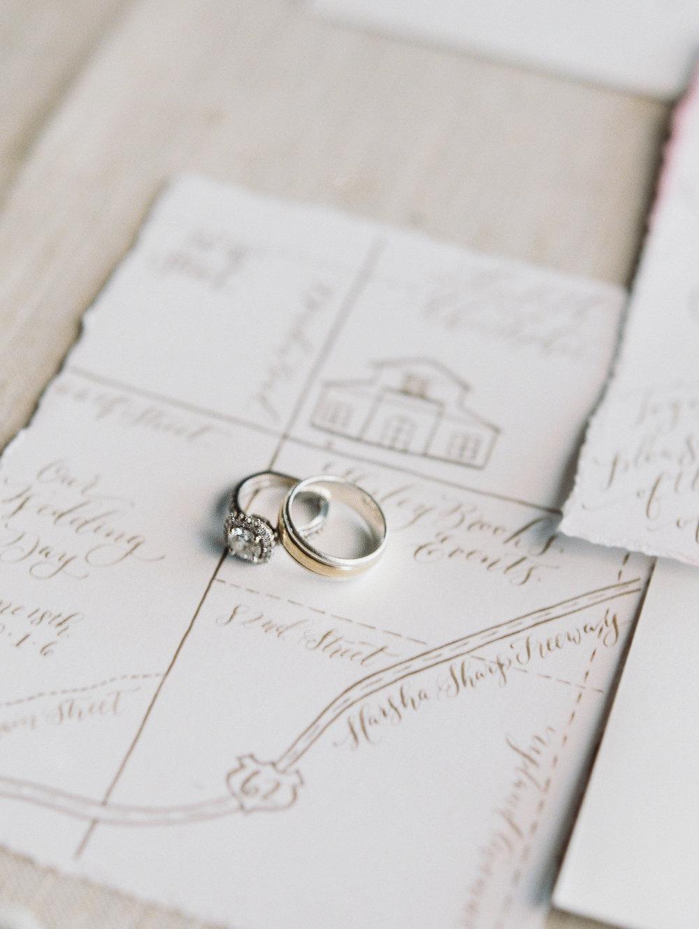 Hand-Painted Wedding Details: Where can I use them? — Brush & Nib ...