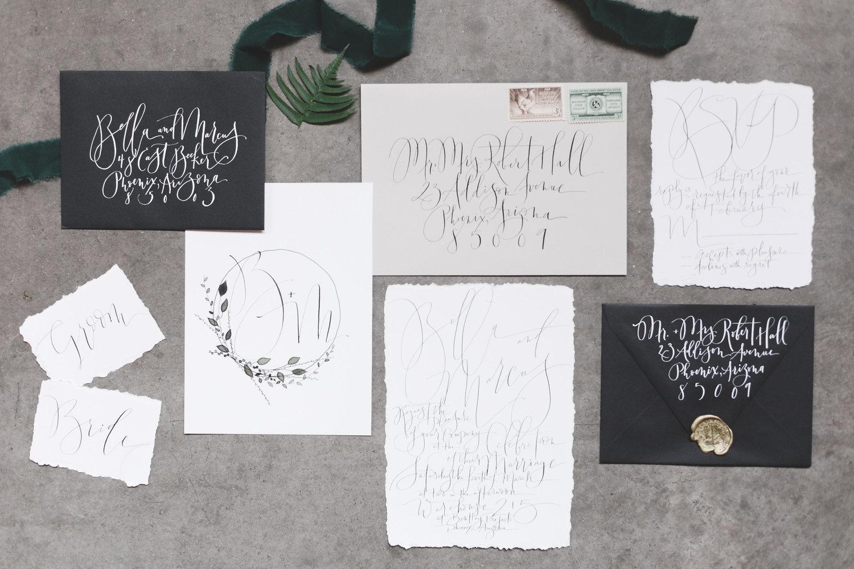 Weddings — Brush & Nib Studio | Hand-Painting + Hand-Lettered ...
