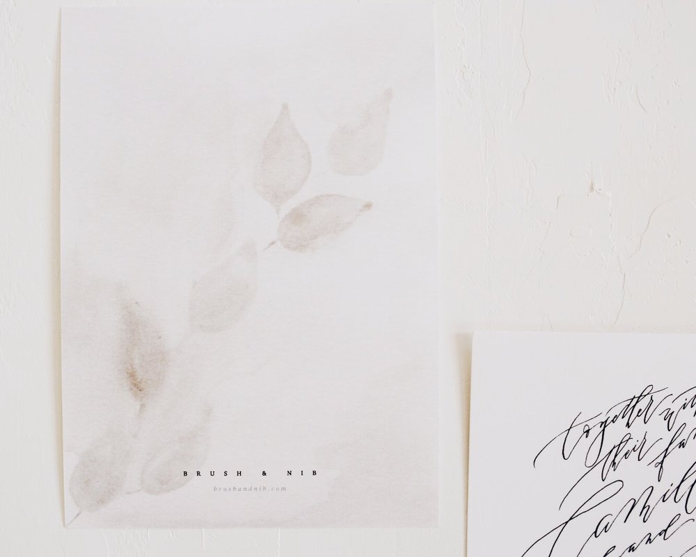 fine art invitations