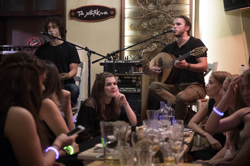 Concert by the sons of Xylouris
