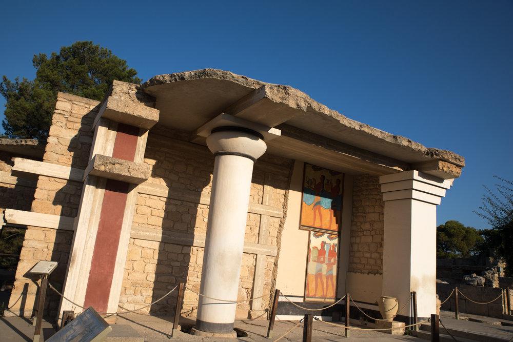 Minoan Palace Knossos