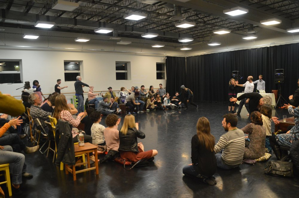 Participatory workshop with DanceExchange