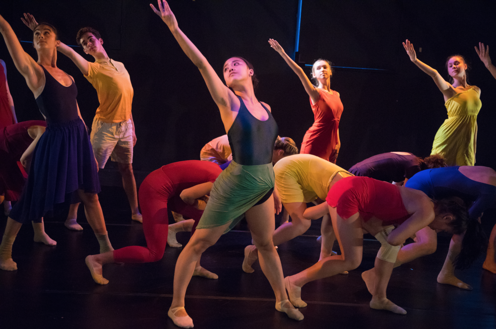 Image from  Spectra , choreography by Therese Gahl, photo by Jeff Malet, as part of the ICONS Choreographic Institute at the Dance Loft on 14th