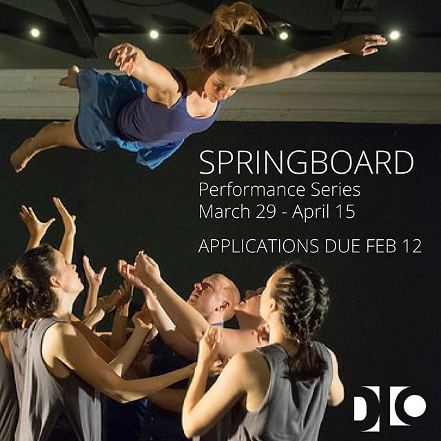 Apply to perform in our space! All genres and lengths of work encouraged; more info on our website! #springboarddc2018 #danceloft14 #ward4dc #dcdance (📷: Stephanie Vadala, @dancethos)