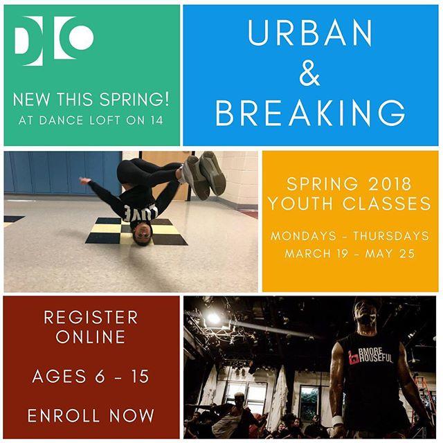 Enrollment now open online! Urban & Breaking classes at the Dance Loft, kids age 6-15 #dmvdancecommunity #dcdance #ward4dc #dmvdancers
