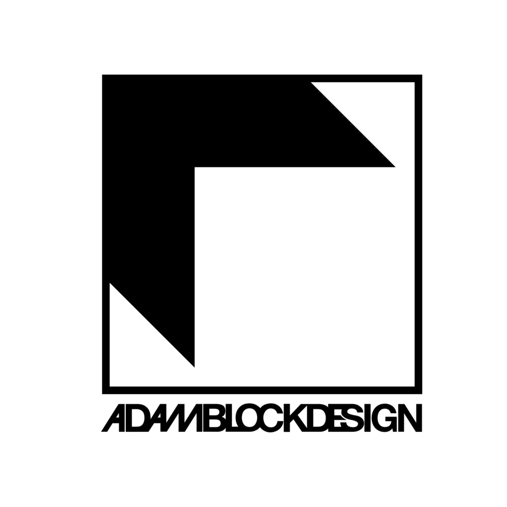 Adam Block Design Logo