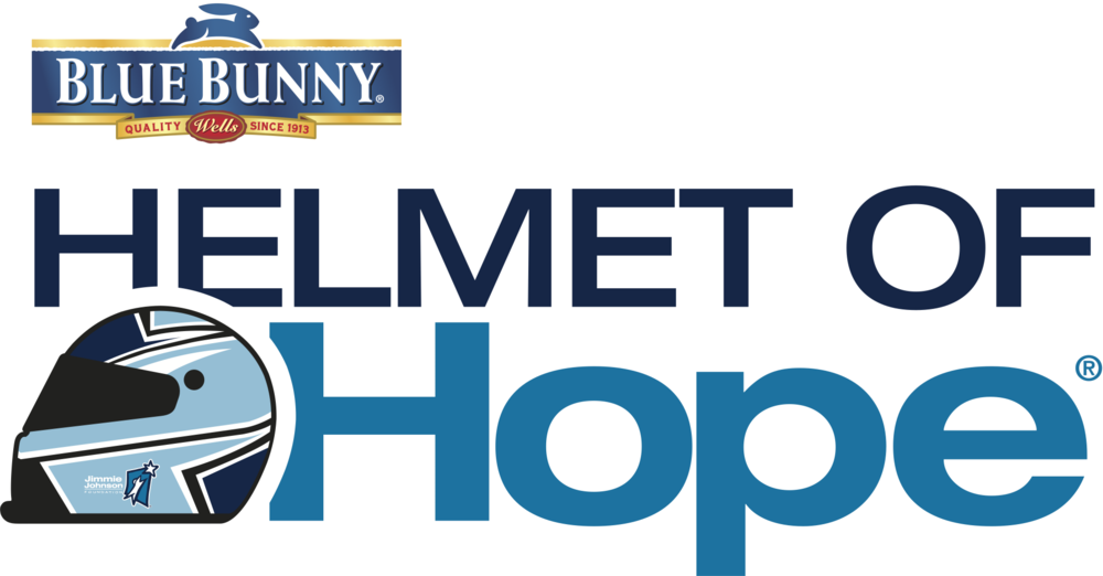 Blue Bunny Helmet of Hope Logo