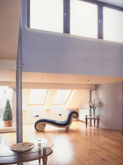 Lounge in the loft