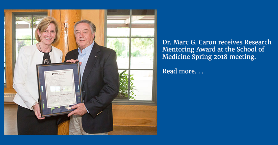 Caron Research Mentoring Award