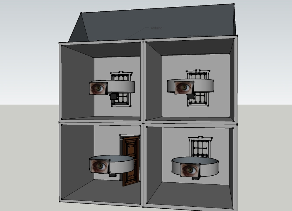 CAD Prototype for house.