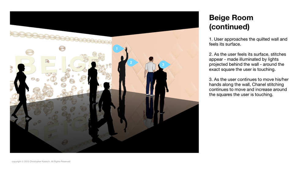 Demonstrated Technology:  Beige Room This application shows how a user's face can be detected by a computer and then realized in a 3d image — all in real time. https://www.youtube.com/watch?v=HQoYJZxv5tU