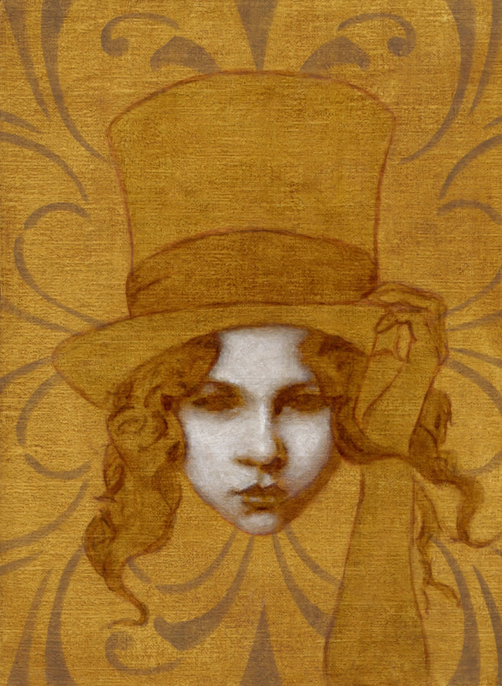 Girl in a Top Hat, 2016
