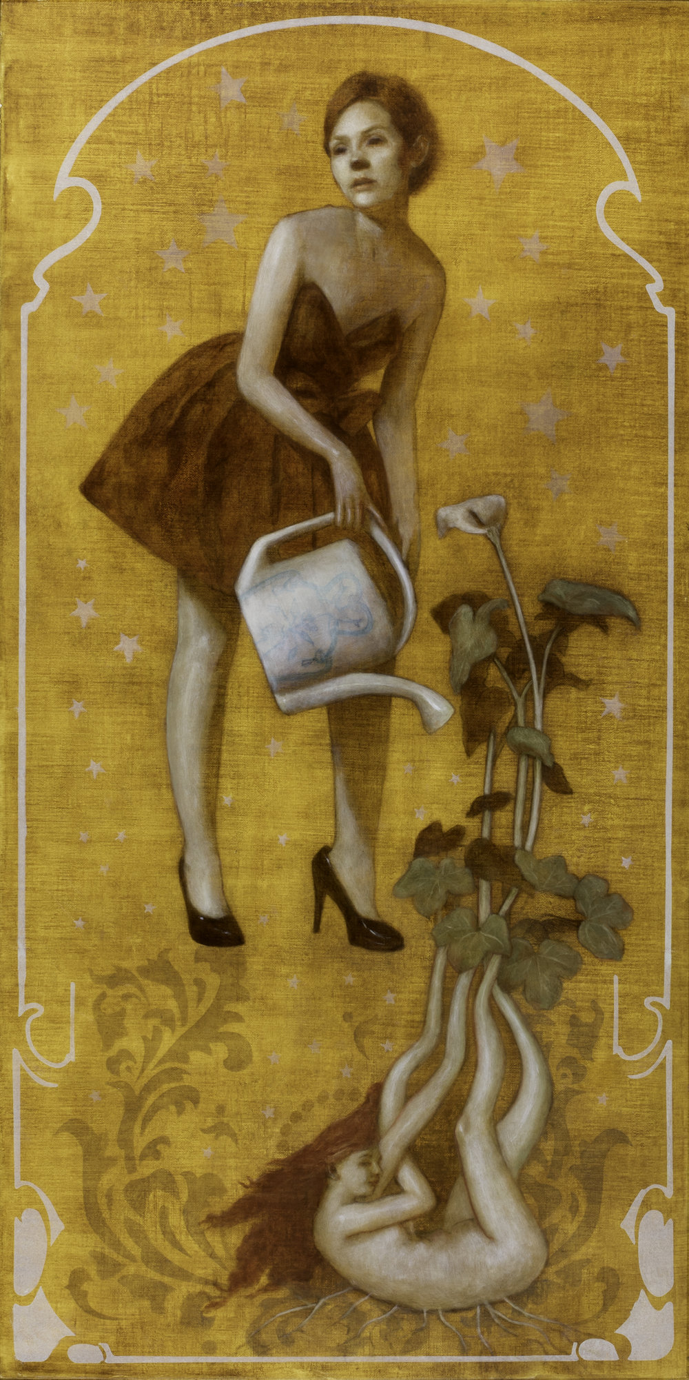 Watering Can Girl