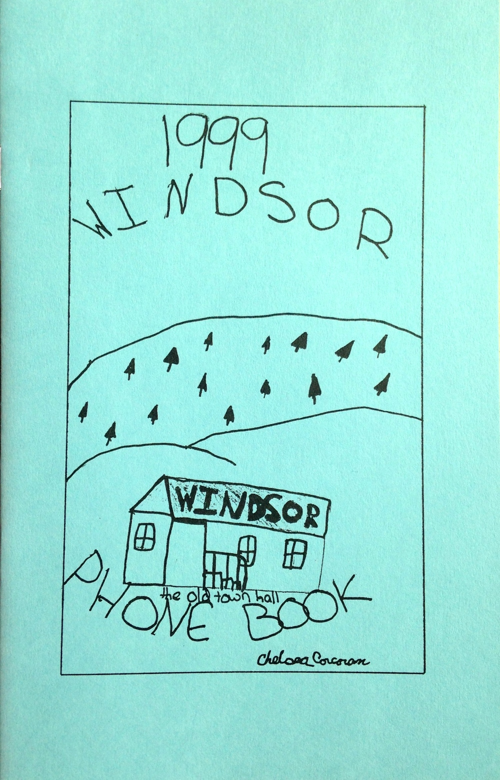 Cover art by Chelsea Corcoran (Grade 5)