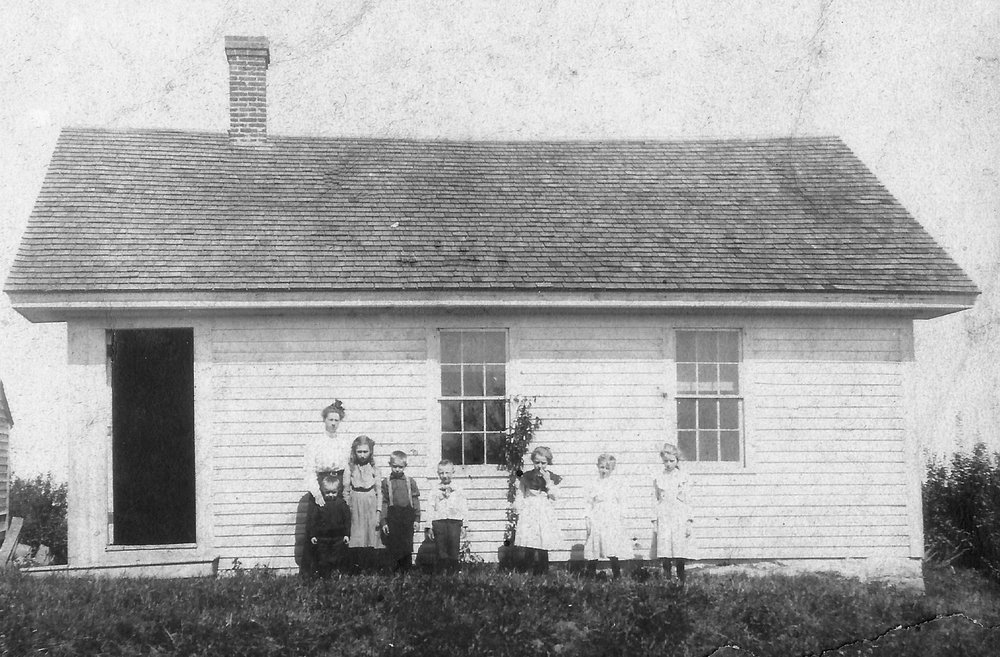 Shaw School, also known as #7. This school was located on Shaw Road near the cemetery. The building still stands and is a residence.