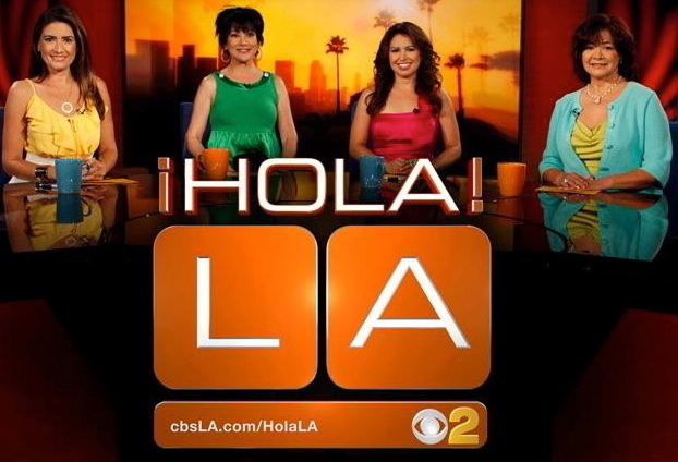 CBS' LA talk show 'Hola LA!' Strikes Again - After a long hiatus we're Baaack!!!  Airing Oct 10th on KCAL9/CBS2 -- check your local listings.  We have resurfaced for a Hispanic Heritage Month Special.  This show is going to have a new look and feel to what we have done in the past.  But what remains the same is our line up of the hottest Latino talent and lots of fun and quirkiness.