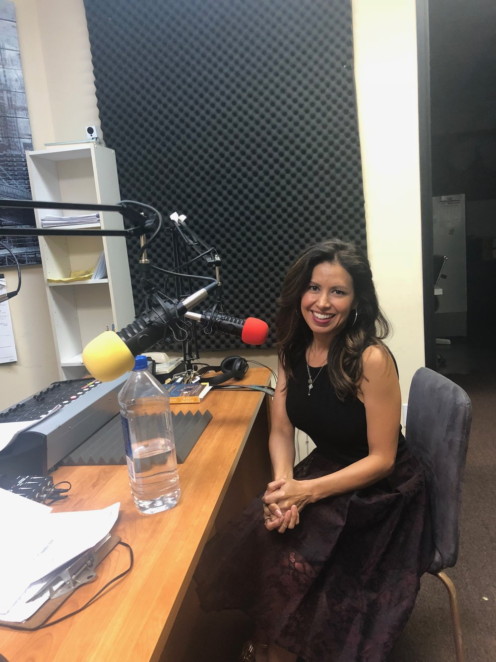Promoting! Promoting! - Interviewed by the wonderful Josefa Salinas and got to plug my appearances on The Big Bang Theory, Macgyver and Sorry For Your Loss