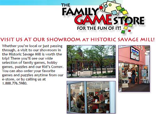 FamilyGameStore
