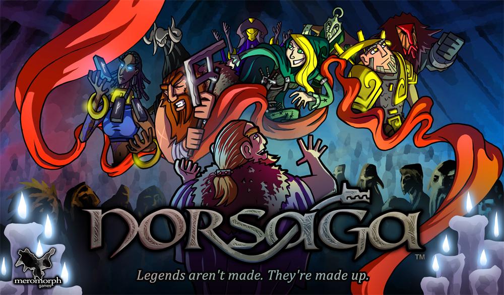 The original  Norsaga  box art.