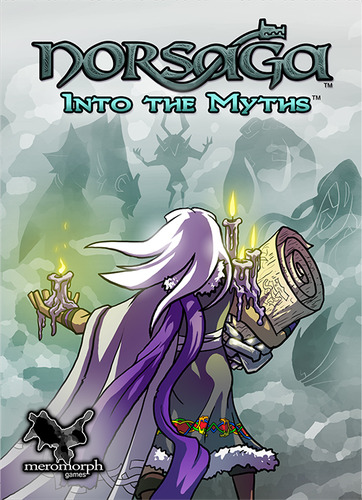 The  Norsaga: Into the Myths  boxart.