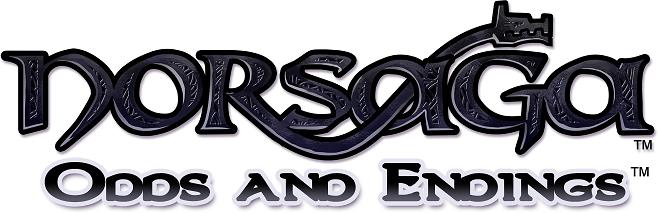 Original  Norsaga: Odds and Endings  logo design.