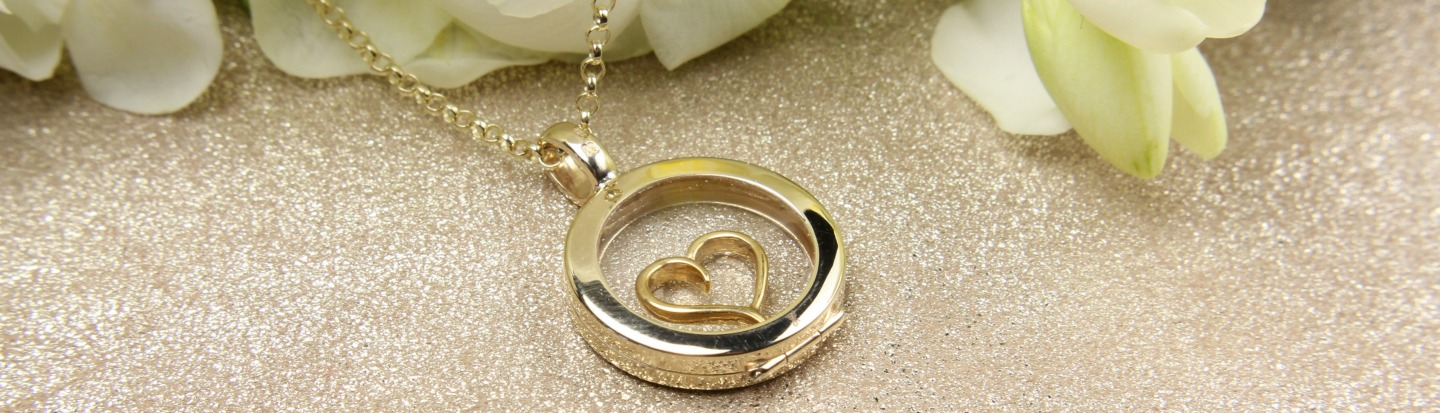 heart small with charm silver gold handmade rose locketheartrgsilverbee bee lockets locket