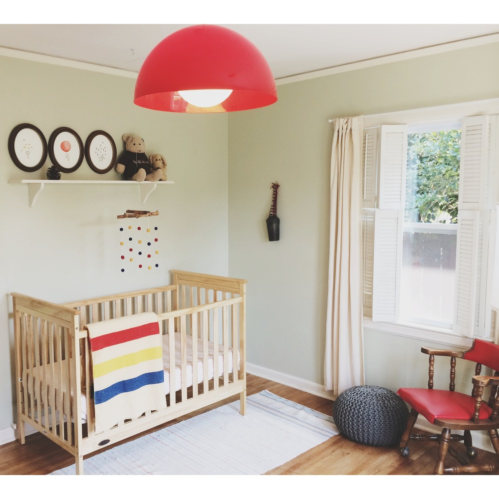 Baby Caroline Janeu0027s Vintage Modern Nursery Tour