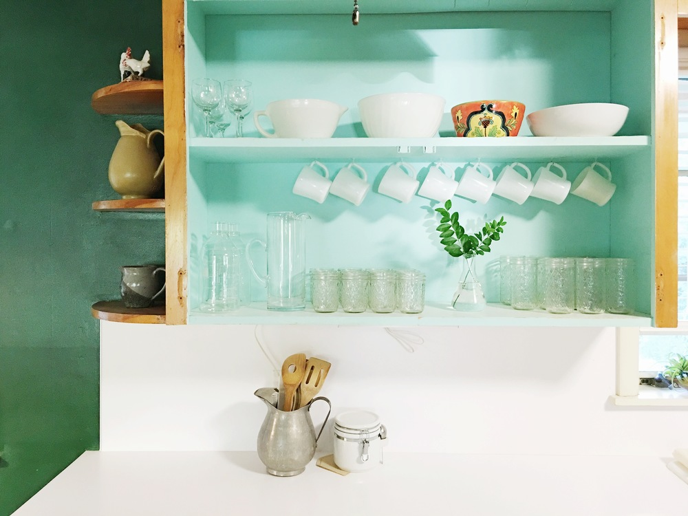 kitchenopenshelvingstyled