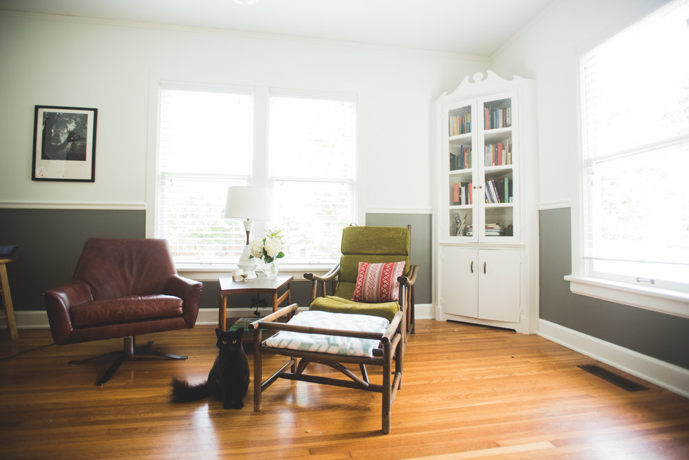 Sunroom: After //Photo by Molly Thrasher Visuals//
