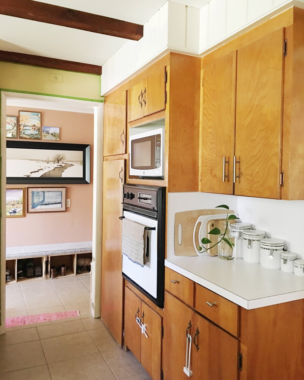 three ashleys two kitchens a tulsa kitchen renovation u2014 retro den