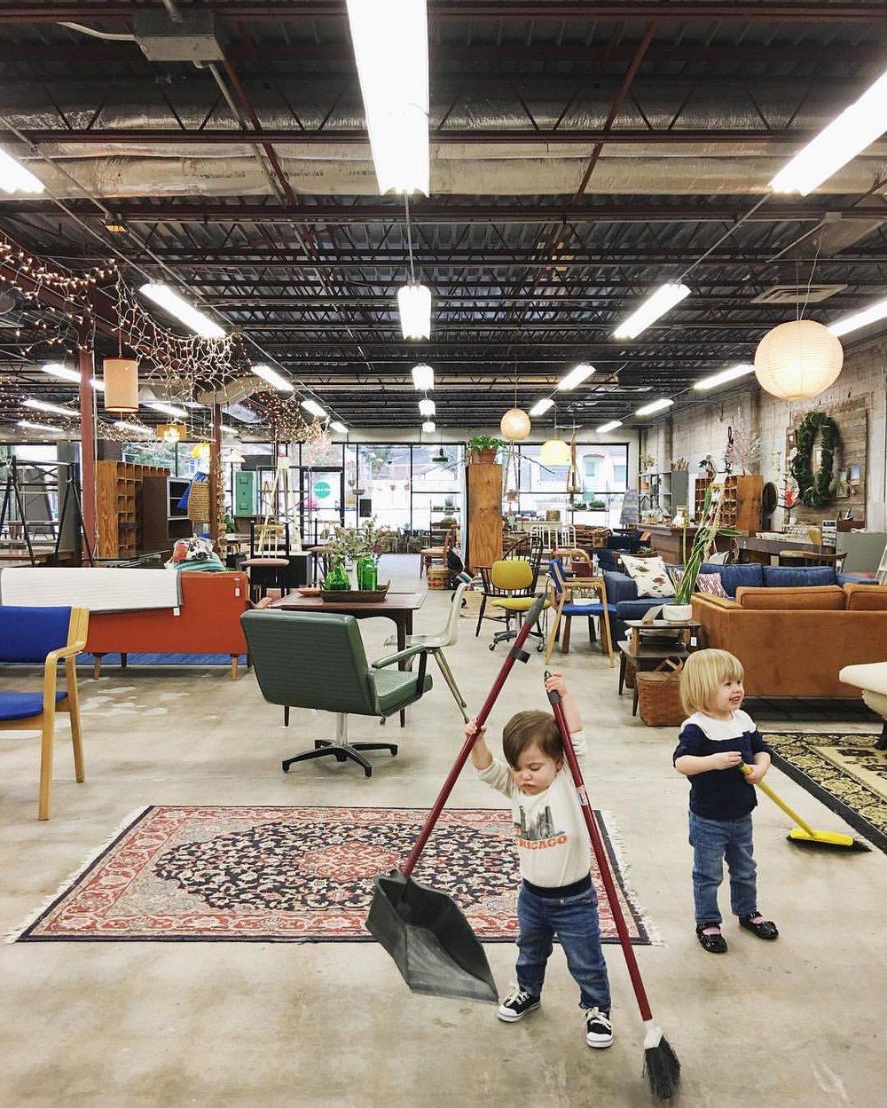Tulsa Oklahoma Vintage Retro Shop