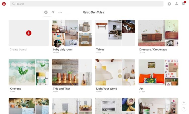 How to Make a Pinterest Board for Home Design — Retro Den