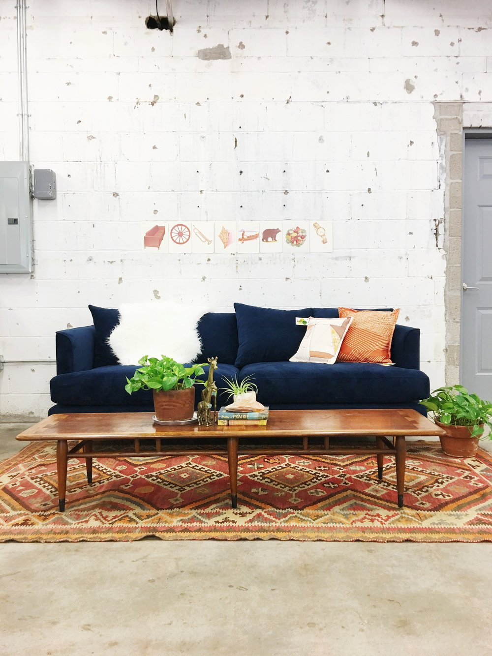 The Gus* Margot sofa is available to order through our shop in several fabric options.