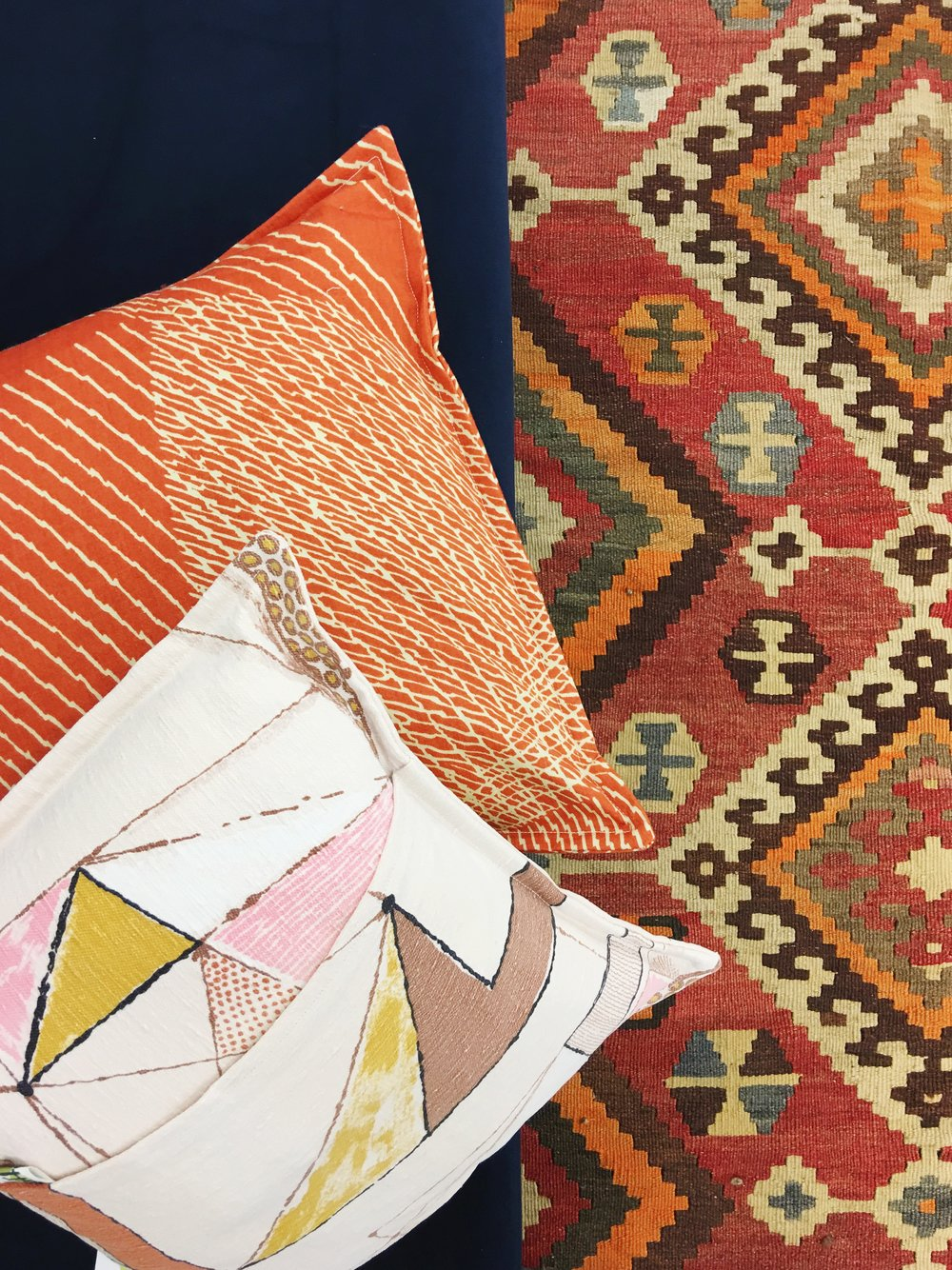 vintage kilim handmade pillows