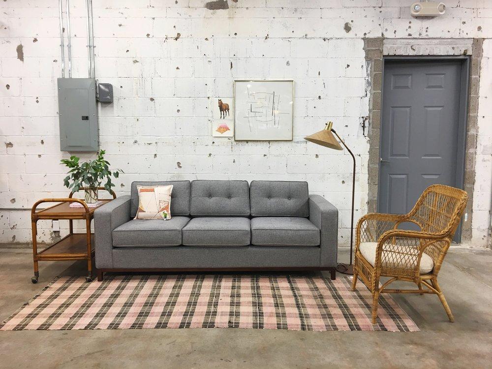 bohemian modern minimalism + vintage