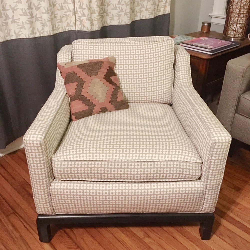 Janie's Upholstery chair