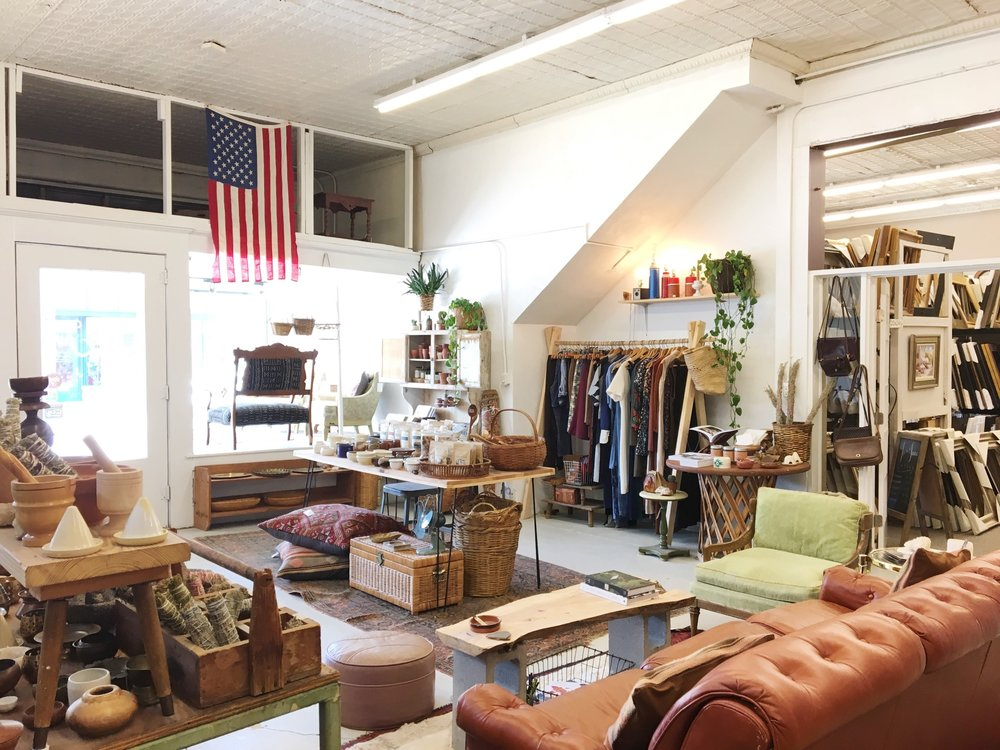 Jo & June has vintage clothes and home items. Earth-tones meet modern day hippie. Yes, please.
