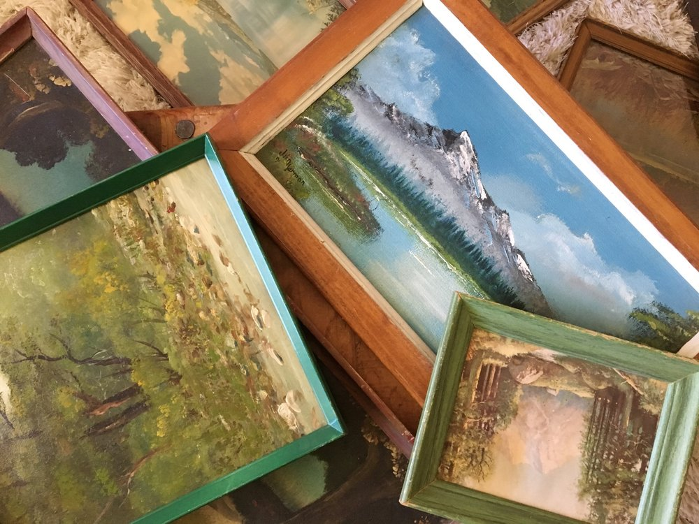 vintage-landscapes-gallery-wall