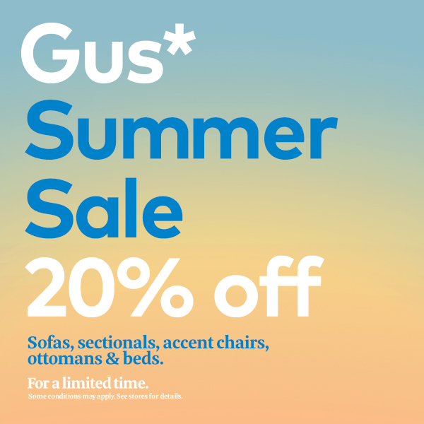 Um, it's here! The biggest Gus* sale of the year!