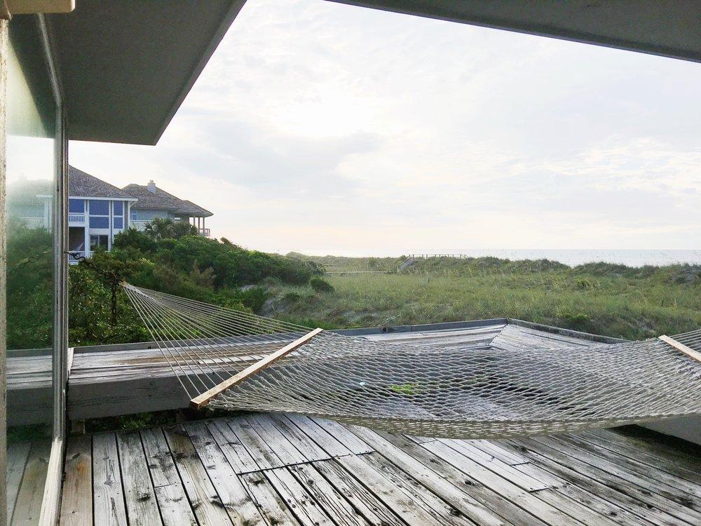 beach house hammock