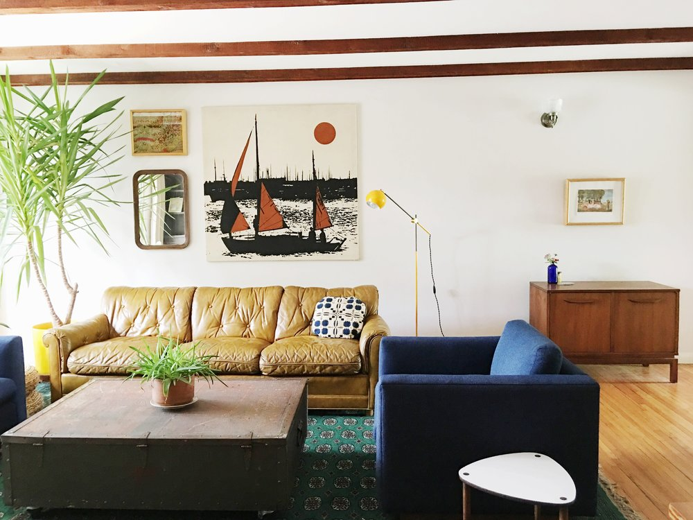 mid century modern ranch home