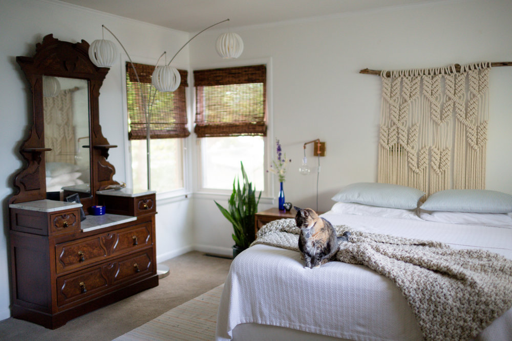 bohemian modern bedroom