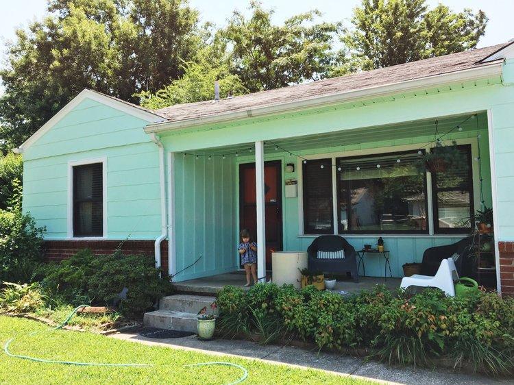DIY Painting Your House Exterior — Retro Den