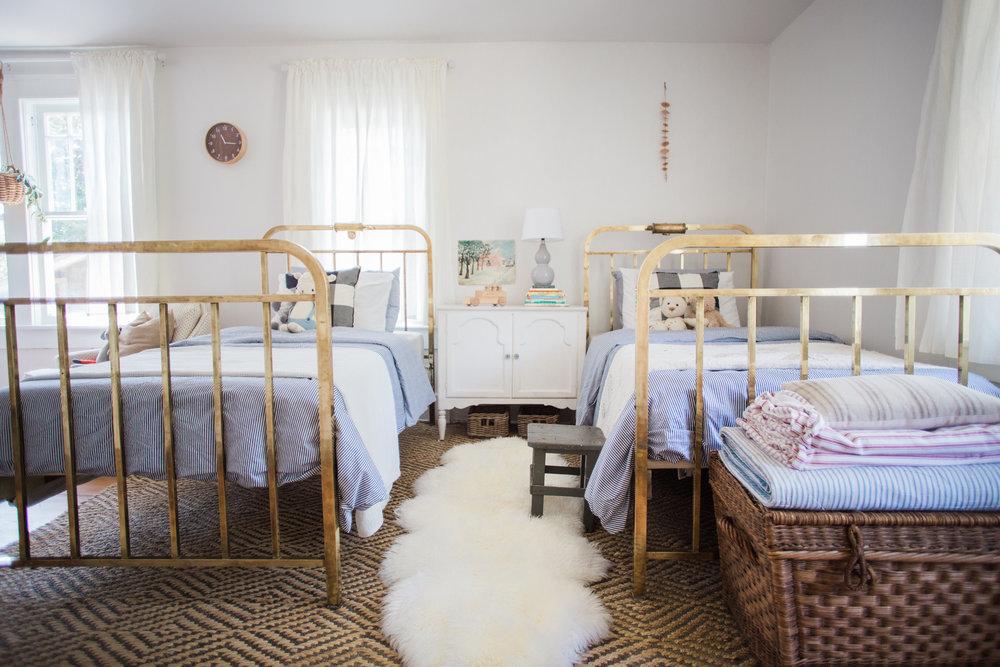 Vintage Modern Boy Nursery